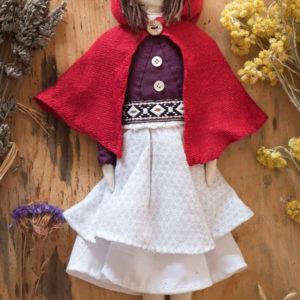 ancienne collection textile poupée