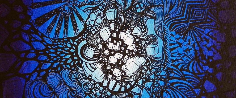 art intuitif tableau