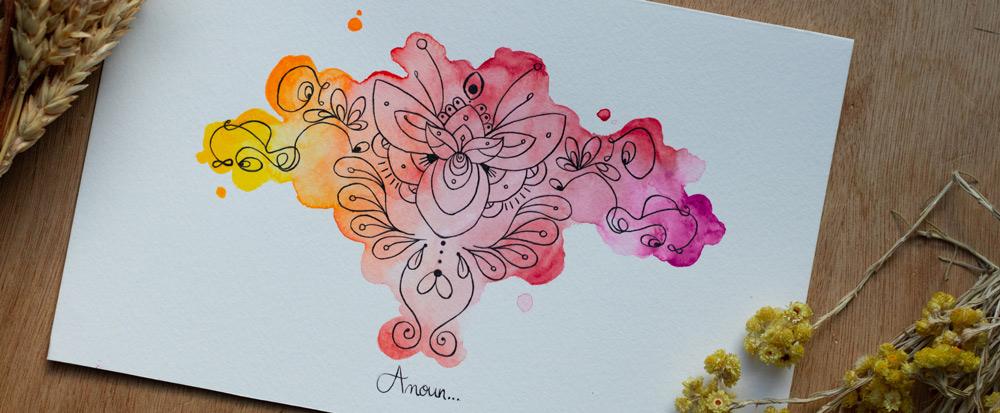 art intuitif illustration feminin