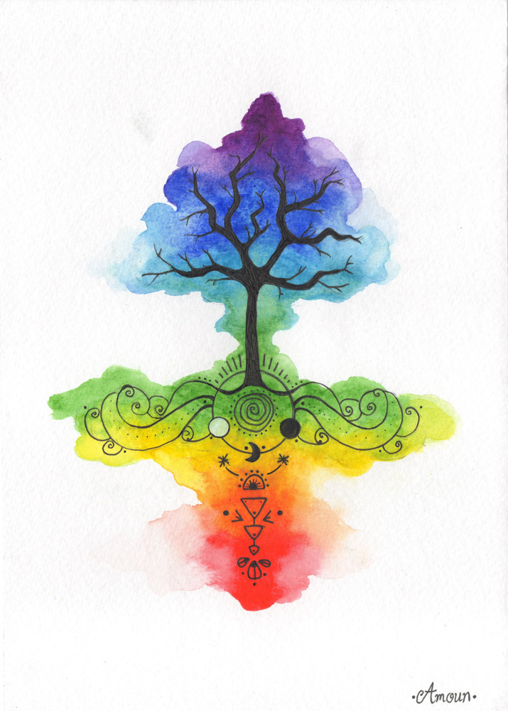 arbre de vie en entier