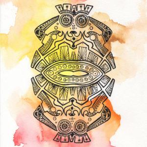 maya à plat