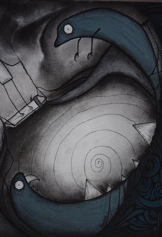 cauchemar détails monstre