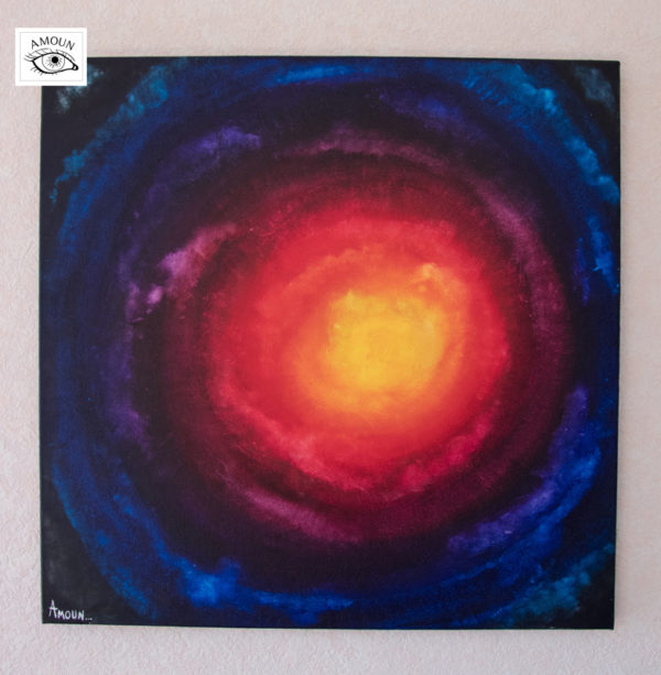 galaxie accroché sur le mur