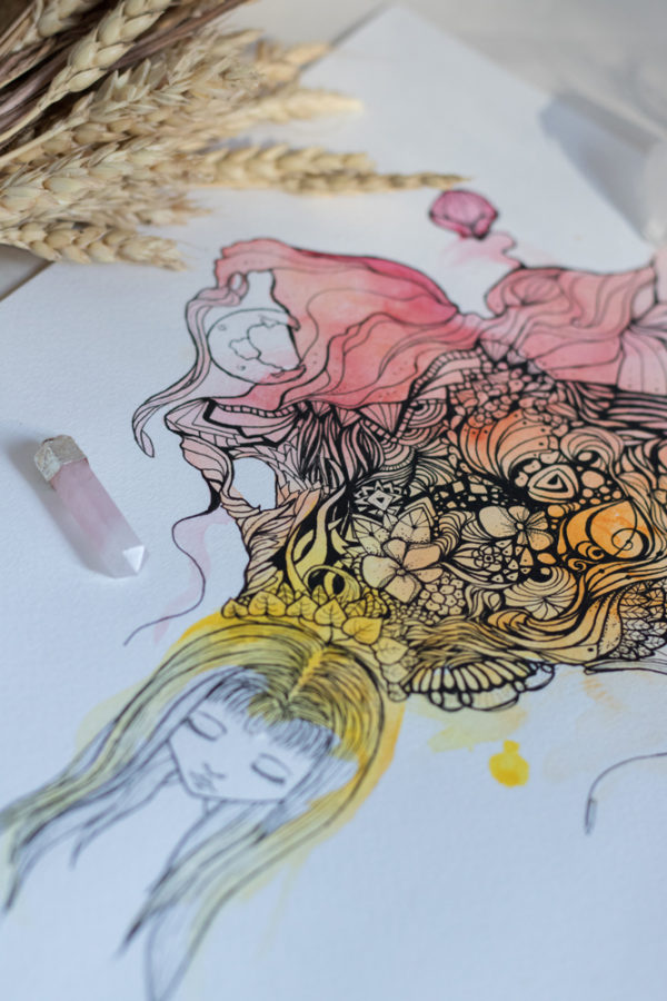 rêve détails flot de pensées
