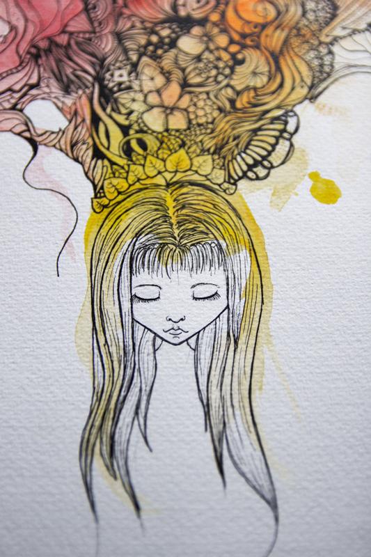 rêve détails petite fille